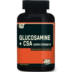 Glucosamine + CSA super strength - 120 таб
