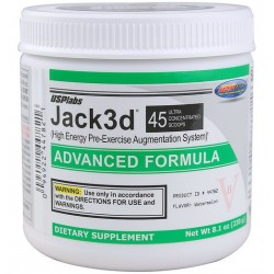 Jack3d ADVANCED FORMULA (240 g) 45 порций