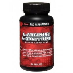 L-Arginine & L-Ornithine 60 таб