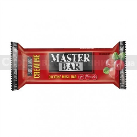 Master Bar with Creatine 30g