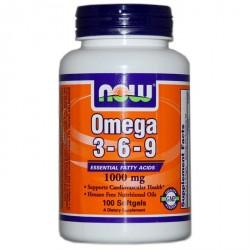 Omega 3-6-9 1000 мг 100 softgels