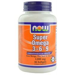 Super Omega 3-6-9 1200 мг 90 Softgels