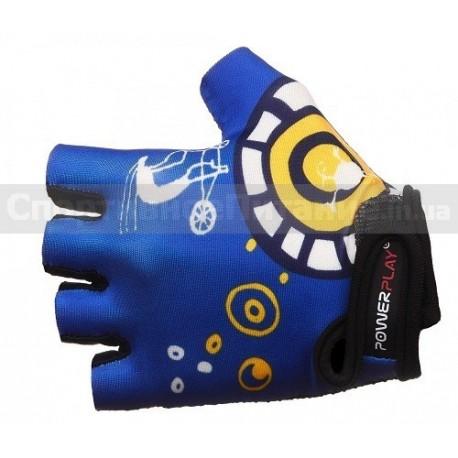 Велоперчатки PowerPlay 001-C
