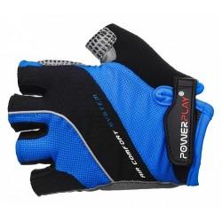 Велоперчатки PowerPlay 5023 синие мужские