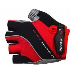 Велоперчатки PowerPlay 5023 красные мужские