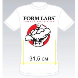 Футболка Form Labs - белая
