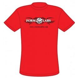Футболка Form Labs - красная