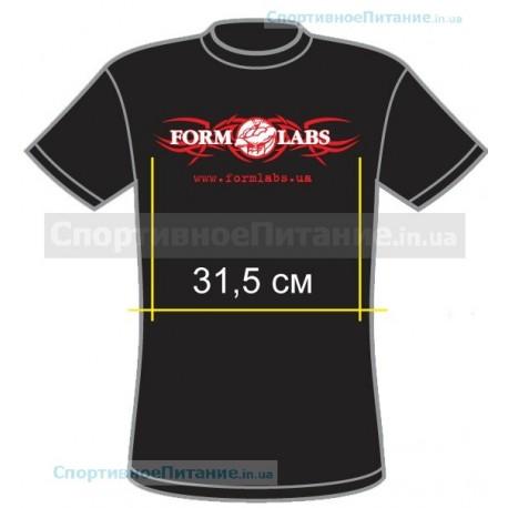 Футболка Form Labs - черная