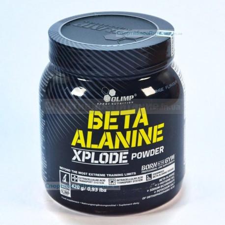 Beta Alanine Xplode powder 420 г