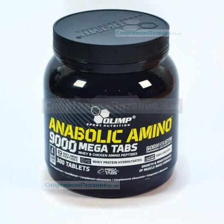Anabolic Amino 9000 mega tabs 300 таб
