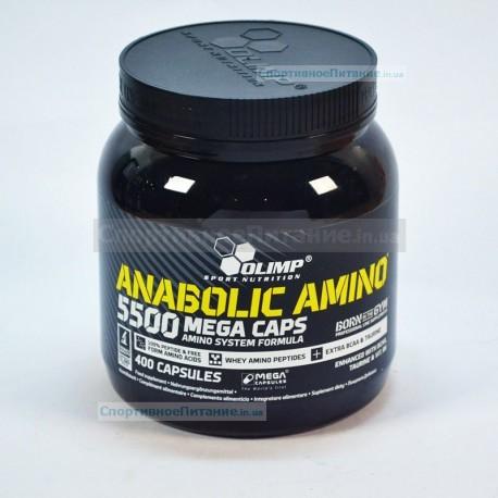 Anabolic Amino 5500 mega caps 400 капс