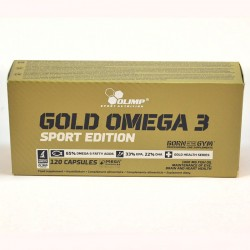 GOLD OMEGA 3 SPORT EDITION - 120 капсул