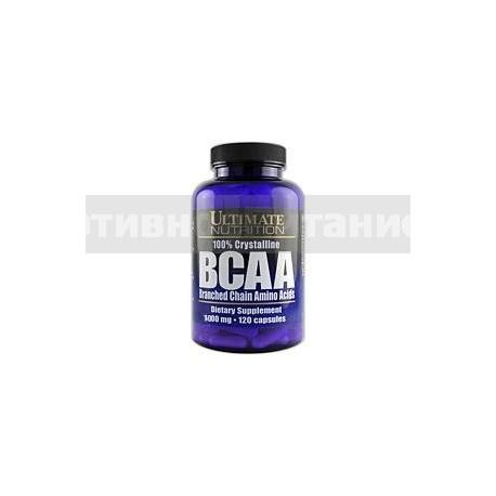 BCAA 1000 мг 120 капс