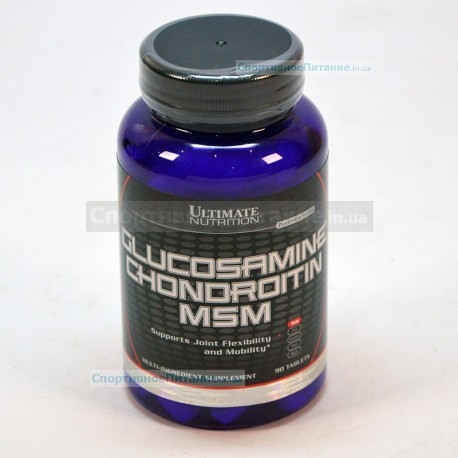 Glucosamine Chondroitin MSM 90 таб