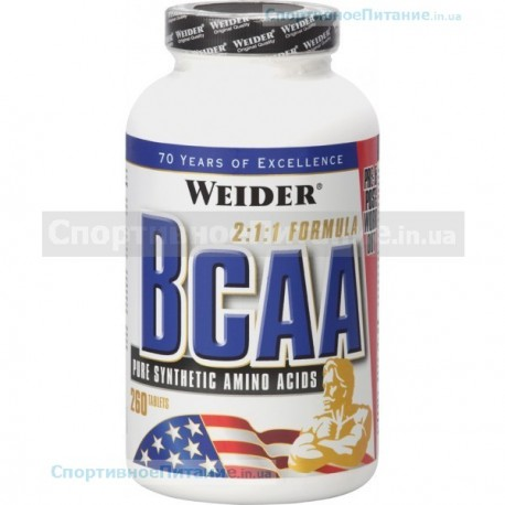 BCAA OPTIMIZED FORMULA 260 табл
