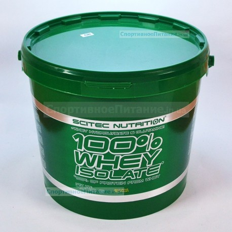 100% Whey Isolate 4000 г