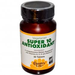 SUPER 10 ANTIOXIDANT 30 таблеток