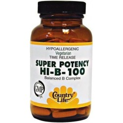 SUPER POTENCY HI-B-100 50 таблеток