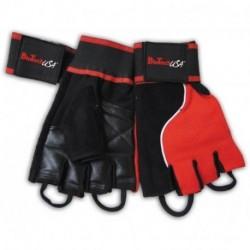 Gloves Memphis 1 Красные с черным