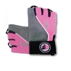 Pink Fit Gloves grey-pink