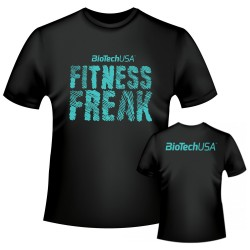 T-Shirt Fitness Freak black