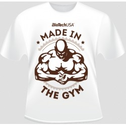 T-Shirt Made in the Gym white