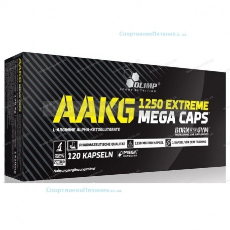 AAKG 1250 Extreme Mega Caps 120 капс