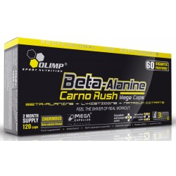 Beta-Alanine Carno Rush mega caps 120 капс