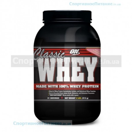 Classic Whey protein 0.9 кг