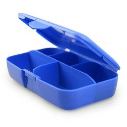 Pill Box Blue