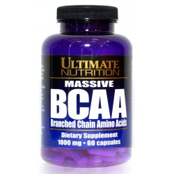 100% Crystalline BCAA & Massive BCAA 1000 мг 60 капс