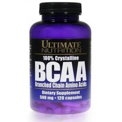 100% Crystalline BCAA & Massive BCAA 500 мг 120 капс