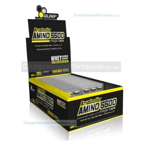 Anabolic Amino 5500 mega caps 30х30 капс