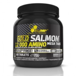 Gold Salmon 12000 Amino mega tabs 300 таб
