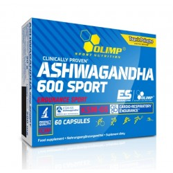 Ashwagandha 600 Sport Edition (KSM-66) 60 капс