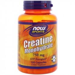 Creatine Monohydrate 750 mg 120 капс