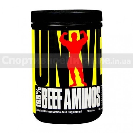 100% Beef Aminos 200 таб