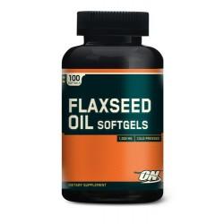 Flaxseed Oil Softgels - 100 кап