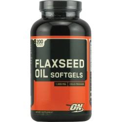 Flaxseed Oil Softgels - 200 капс